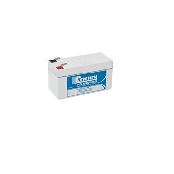 Picture of 12 Volt 1.2 Amp Sealed Lead Acid Battery