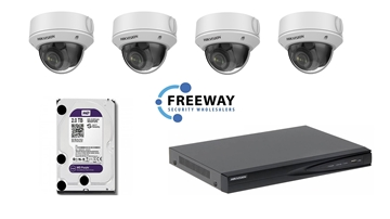 Picture of 4MP HIKVISION 4 Channel Kit with 4 x DS-2CD1743G0